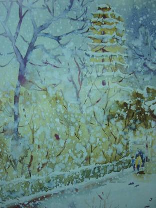 لوحات الجليد والثلج