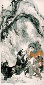 于志学与他的冰雪山水画 - 蚁多米 - 蚁多米版画