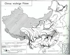 Chinas flüsse