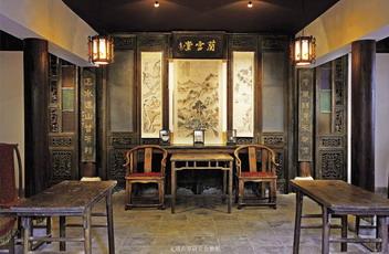 中式厅堂装修效果图
