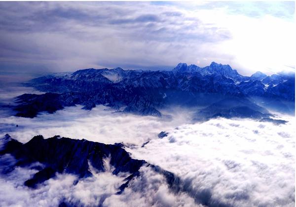 青岛崂山巨峰崂山火球