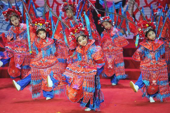 首届全球传统文化春晚在北京完成录制