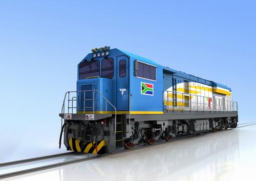 获南非232台内燃机车订单 中国北车铁路装备密集开往非洲