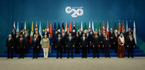 当地时间2014年11月15日,二十国集团领导人第九次峰会在澳大利亚图片