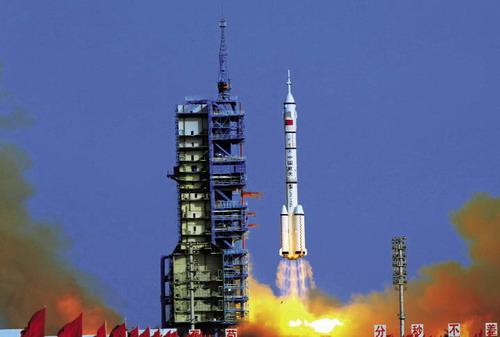 中国迈进宇宙空间站