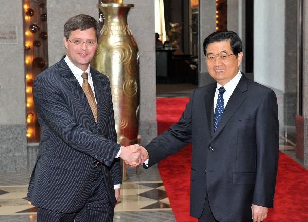世博会开幕时间_胡锦涛会见前来出席上海世博会开幕式的外国领导人