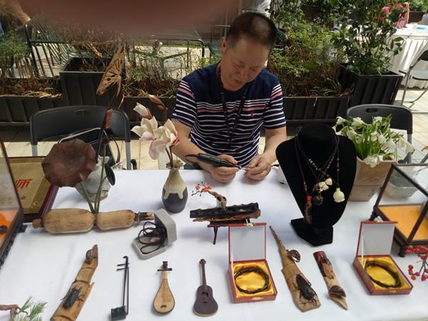 杭州江干:非遗民间手工艺展 弘扬优秀传统文化
